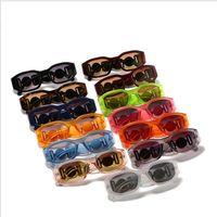 Marca designer óculos de sol pequeno forma irregular personalidade quadro senhoras óculos moda ao ar livre sol clássico vintage dirigindo homem óculos de sol