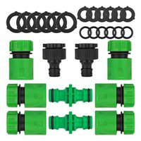 Watering Equipments Hose Adapter Set Car Washing Pipe Outdoor Garden Lawn Thread Quick Connector Coupling Joint ABS Irrigation Accessories