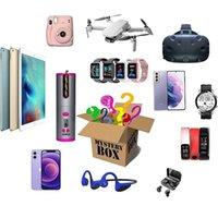 Envoltório de presente Most Lucky Mystery Box 100% Surpresa de alta qualidade Mais produtos aleatórios Produtos eletrônicos esperando por você !!!
