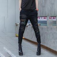Women's Jeans Cowboy Trousers Elastic Waist Pants For Women High Pencil Female Vintage Retro Casual With Zipper
