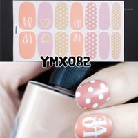 Leass Nail Art Sticker Nails Wrap Foil Fai da te Manicure Decor Tips Shra889 Adesivi Decalcomanie1