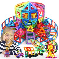 Brinquedo de construtor de designer magnético para meninos meninas blocos de construção magnética ímã brinquedos educativos para crianças