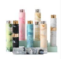 Perfume Atomizer Bottles Vitog Refillable Mini Travel Size Empty Cologne Sprayer Spray Marble Pattern Portable Bottle for Women, Men 10ML