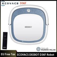 Deebot D36F Robot Vacuum Cleaner Support HiLink Remote Control Sweep And Wet Mopping For Hard Floors&Carpet Cleaners