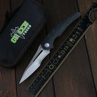 Green Thorn Peefer M390 Blade + скрытый задний клип + TC4 Titanium 3D ручка открытый кемпинг утилита для кемпинга складной нож EDC инструмент