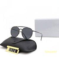 Designer Sunglasses Blaze redondo ponte dupla 3614 moda condução de alta qualidade galvanoplastia moldura mental polaroid hd vidro clássico na moda unisex 8 cores