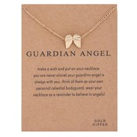 Angel Wings Collarbone-Kette, Engelsflügel sanfte Halskette (Silber, Gold)