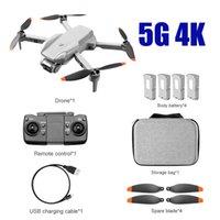 دروبشيب K80Air2S GPS الذكية 5G WIFI 4K الكاميرات المزدوجة الطي الطي طي الطائرات UAV الهوائية عالية الوضوح كاميرا أربعة محور التحكم عن بعد الطائرات الطائرة بدون طيار