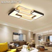 Ceiling Lights Ventilador De Techo Led Modern Lamp Living Room AC85-265V Light Fans Ligting