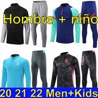 2021 2022 Griezmann Men Kids Futebol Treinamento Treinamento Kits 21 Meninos Real Madrid Sobrevetimento Pé Futebol Chandal Futbol Chandal Jogging Sports Sets