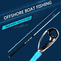Boat Fishing Rods Offshore Rod 1.8 2.1 2.4m Full FUJI Parts Slow Jigging Ocean Spinning Weight 16-18KG Pole