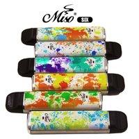 Одноразовая ручка Vape Miso Six Electronic Cigarettes Kit 950 мАч Батарея 1600Установок 5ML Предварительно заполненные высококачественные оригинальные пары оптом PK Puff Plus Plus Bang Max Vapes