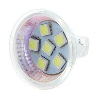 Ampoules MR11 Gu4 Pure White SMD 6 LED Office Lampe Lampe Lampe Ampoule Économie d'énergie 12V