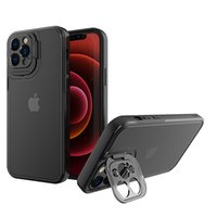 Suitable for iPhone13 protective cover xsxr frosted anti-fall Apple 12 11Pro fine hole eye protection bracket mobile phone case