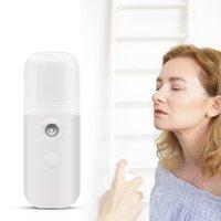 Nano nebbia spruzzatore portatile mini palmare estivo umido idraulico facciale viso viso umidificatore spray bellezza pelle cura