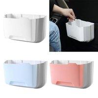 Parts Portable Plastic Door Garbage Trash Bag Box Can Rack Hanging Holder Kitchen