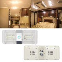 الكمبيوتر DC 12 فولت led rv سقف قبة ضوء الإضاءة الداخلية مقطورة العربة أضواء لملحقات أجزاء 2021 atv