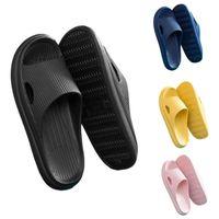 Thick Platform Slippers Summer Beach Eva Soft Sole Slide Sandals Leisure Men Ladies Indoor Bathroom Deodorant Silent Bath Mats
