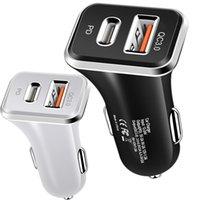 Tipo C QC3.0 PD Carregador de Carregador Celular Carregadores para iphone 7 8 x 11 Samsung Tablet PC GPS