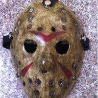 Schwarz No.13 100 stücke Freitag mehr Jason Voorhees Typ Freddy Hockey Festival Party Halloween Maskerade Maske (Erwachsene Größe) 100Gram
