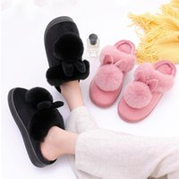 Slippers Women's Fashion Winter Autumn Home Cotton Indoor Warm Shoes Womens Cute Plus Plush
