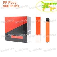 Одноразовый Vape Pen Plus Plus Plus Power Puffuls 550 мАч 3.2 мл Струйная система 100% Оригинальные товары с Security Code Бесплатный корабль 6 дней в США и AU по DHL