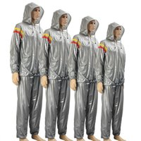 [WITH HAT] Fitness Weight Reduce Heavy Duty Sweat Suit Sauna Training Unisex Shaper