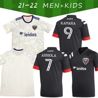 2021/2022 Jersey de football personnalisé 31 fans de Gessel version 9 Kamara Home Away 10 Flores Man + Kids Kit 17 Santos Football Shirt