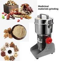 Molillas de café eléctricas 800g Speces Hebals Cereal Seco Grinder Molino Máquina de molienda Gristmill Hogar Harina Polvo Pulver