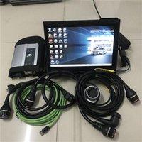 Strumenti diagnostici MB STAR C4 SD con 2021.06V Lettore di codice OBD2 Laptop X200T Tablet PC + 360 GB SSD per la diagnosi automatica