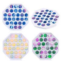 Декомпрессионная игрушка пузырьковая музыка Нажмите на доску, чтобы распаковать артефакт детский математический арифметический интеллект игры игра