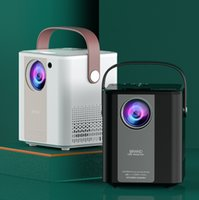 Miniature HD Home Leisure Small Cinema LED Mini Portable Projector is suitable for mobile phones and computers