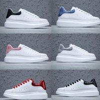 Sıcak Tasarımcı erkek ve kadın Beyaz Ayakkabı Espadrilles Yüksek Kalite Espadrilles Düz Alt Eğlence Spor Dantelleri Kutusu Boyutu 36-45