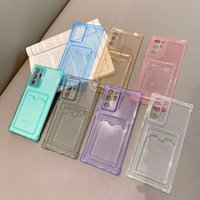 Shockproof Silicone Phone Cases coque iPhone 13 12 11 Pro Xs Max lens Protection apple SE X Xr 7 8 Plus Card Case Back Cover SAMSUNG S21 ultra S30 S31 A72 A52 S20 note 20