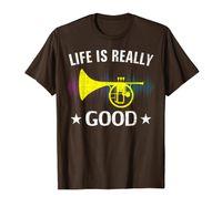 Życie jest naprawdę dobrego Melophone Funny Music Orchestra Gift T-shirt