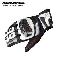 Komine Men Motorcycle Gloves Racing Enduro Motocross Carbon Fiber Moto GP Waterproof For Motorcyclist GK-193