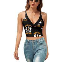 Women's Tanks & Camis Craft Beer Tank Top Sling Blank Sweet Camisole Sports Female Sales Crop