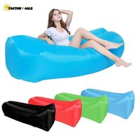 selling Inflatable Bouncers Outdoor Lazy Couch Air Sleeping Sofa Lounger Bag Camping Beach Bed Beanbag Chair FM22