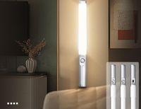 NOVITÀ LIGHTING 2.5W PIR Infrarossi a infrarossi LED Body Umano Cabinetto di induzione leggera Lampada del sensore di movimento DC5V 3000K Carica USB