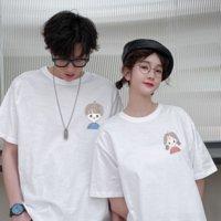 vy6 liebhaber sommer 2021 frauenscoat t-shirt top trend casual kurzarm t-shirt lose top und koreanisch halbhülsenanzug