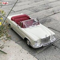 Maisto 118 1967 Mercedes-Benz 280SE Legierung Retro Automodell Klassische Auto Modell Auto Dekoration Sammlung Geschenk