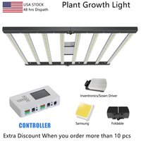 Customizable Foldable Led Grow Lights 8bar 600W 720W Full Spectrum 301H UV+IR For Indoor Plant Commercial Plant Growth Lamp 2021