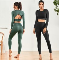 Pocket da leggings, pantaloni da yoga allungata e sportiva stretta da donna in esecuzione da donna
