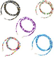 Chains Trendy 5PCS Mask Necklace Holder Eyeglass For Women Strap Beaded Lanyard With Clips