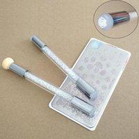 Nail Art Kits Pinsel Stift Schwamm Dual Kopf waschbar Transfer Druckvorlage Werkzeugstempel Bloom Maniküre Werkzeuge