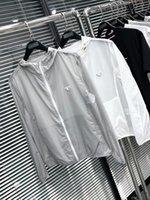 TopStonee Konng Gong Spring и Летняя Тонкая Куртка Бреду Пальто Открытый Солнцезащитный Водонепроницаемая Ветровка Солнцезащитная Одежда Водонепроницаемый С капюшоном С капюшоном Плюс Треугольник PRA