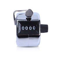 Numéro de 4 chiffres Mini Main Tally Compteur de golf numérique Comptage manuel de l'entraînement MAX. 9999 Counter en gros GWA4544