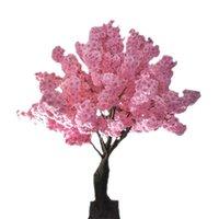 축제 장식 꽃 시뮬레이션 벚꽃 인공 식물 가정 장식 실크 벚꽃 인공 꽃다발 결혼식