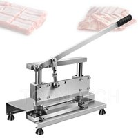 Manual Meat Cutting Machine Bone Saw Maker Thickening Stainless Steel Rib Cutter
