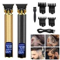 المهنية الحلاقة حلاقة الشعر المقص القابلة لإعادة الشحن الكهربائية t- المحيط آلة قطع اللحية الانتهازي الحلاقة للرجال القاطع